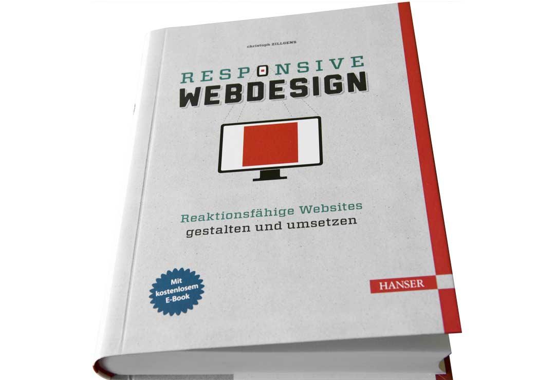 Titel des Buches Responsive Webdesign
